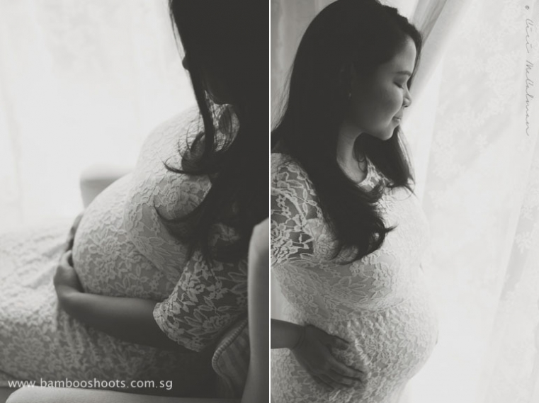 Black & White Maternity Photography, Vintage & Chic