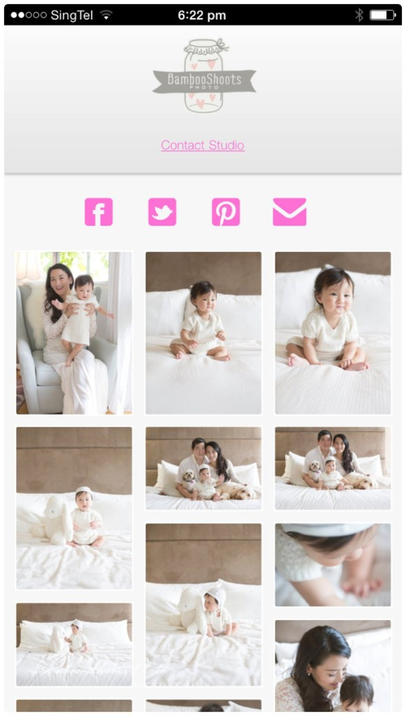 Tiara and baby V family session