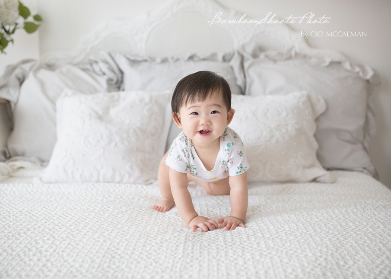 lifestyle baby photography Singapore is featured on the blog