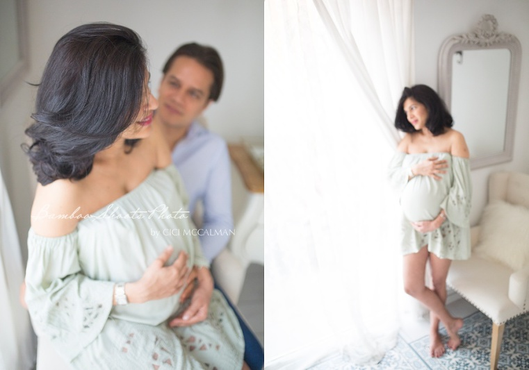 Maternity Photography session in studio is featured on the blog. Maternity Photography I Singapore Maternity Photo I Maternity Photographer
