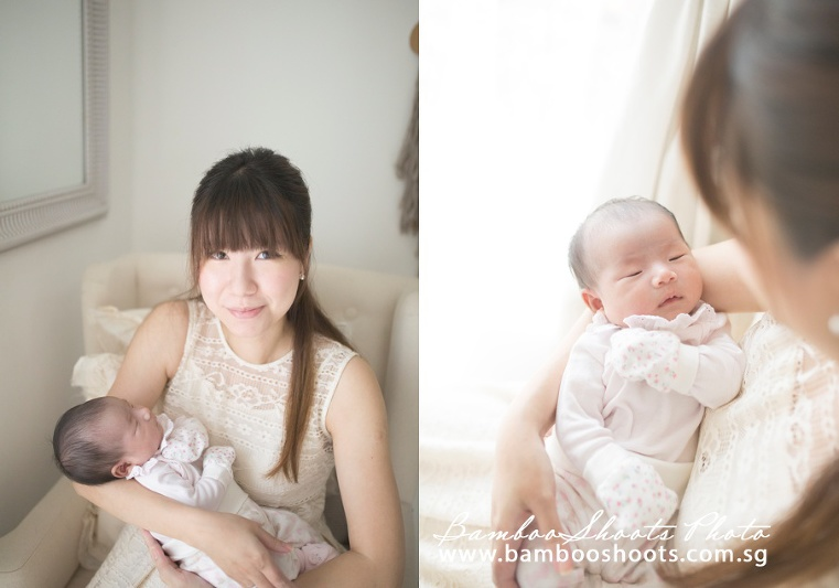 newborn baby photography singapore, family photography singapore, 100days celebration