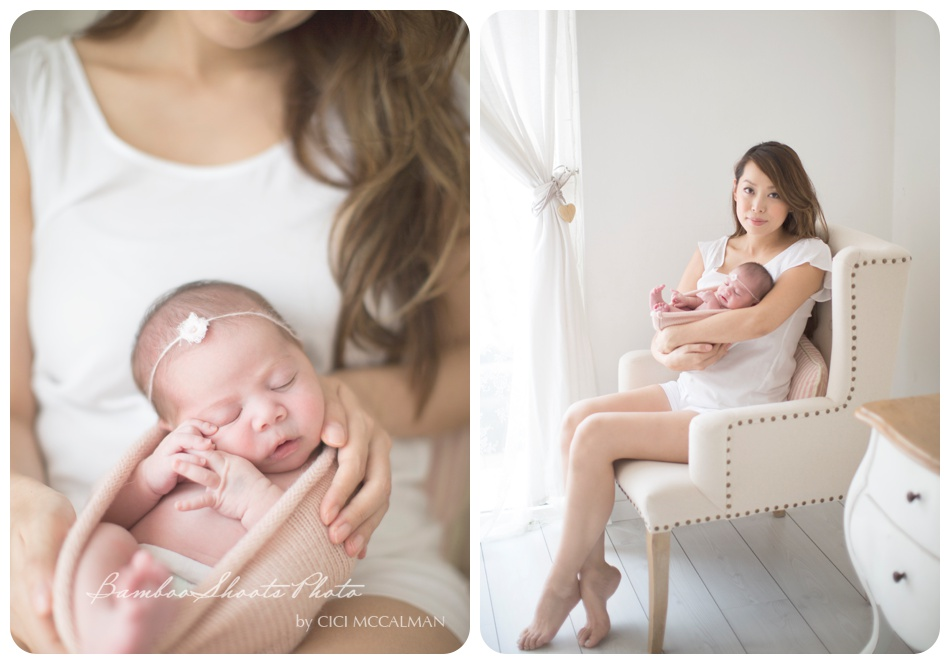 natural light newborn photography featuring on the blog now www.bambooshoots.com.sg/blog/