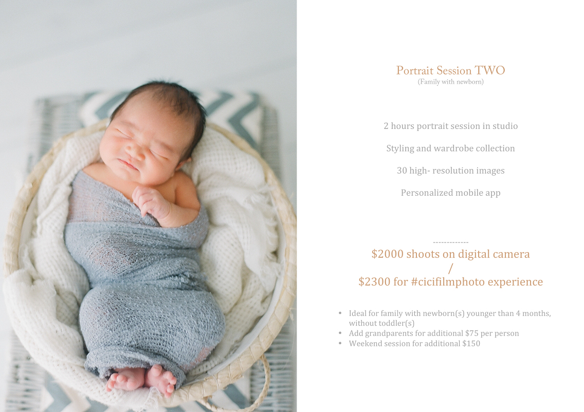 All in prices » Best Portrait Photographer, Singapore